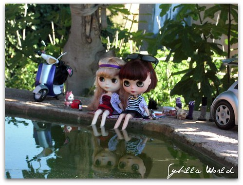 Sookie y Sybil by sybillaworld