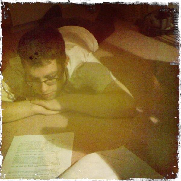 Jeff, reading