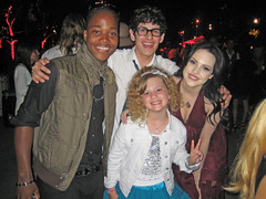 Piper with Leon Thomas III, Matt Bennette and Elizabeth Gillies (PipersPicksTV) Tags: grande nick jade piper youngest paramount ariana nickelodeon victorious piperspicks mattbennett leonthomas icarly entertainmentreporter danschneider elizabethgillies arianagrande piperreese lizgillies