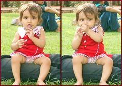 Ivy Enjoying at Qutub (InfoShri) Tags: cute girl doll bhaiya beautifull allahabad gudiya ladaki ivyaavyashrivastavanewdelhiaashipoochhubetuguddasonashonahirajaneman