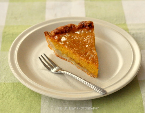 Sour-Cream Pumpkin Pie