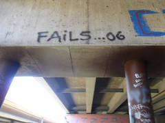 FAILS 06 (Reckless Artist) Tags: bridge art graveyard minnesota graffiti midwest paint spray crew graff fails mn duluth hc btr hesh