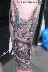 angel tattoo by Mirek vel Stotker (stotker) Tags: london art tattoo by angel studio artist best vel tatuaje realistic mirek londonangel studiotattoo stotkertattoo tatouagetatouageslondra tätowierungtätowierungenlondres tatuaggiotatuaggimirek shoptattoo islingtontattoo tatuajeslondon islingtonartist mirekbest stotkerlondontattoostudio londonblackandgreytattoolondres
