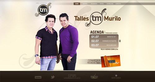 Site - Talles & Murilo by chambe.com.br