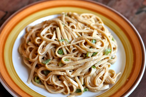 Noodles with Spicy Peanut Sauce - Amateur Gourmet