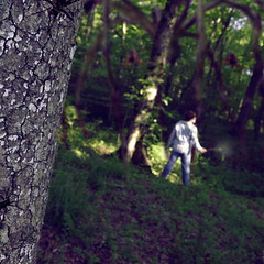 Follow the Spiders (Casey David) Tags: wood trees tree grass night standing forest spider scary woods bokeh spiders witch wizard wand magic alabama harry potter harrypotter ivy creepy jeans dirt nighttime bark barefoot horror plaid hogwarts cos giantspiders lumos harrypotterandthechamberofsecrets project365 forbiddden 365days chamberofsecrets forbiddenforest aragog spideronweb standingingrass caseydavid caseydavidphotography litwand