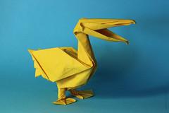 Benoit Zenker. Pelican. (kastudio) Tags: origami benoit pelican olympiad 2011  zenker alexanderkrupnikov