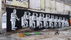 Paris  Zoo Project......pensons  lui RIP (descartes.marco) Tags: freeinternet zooproject graffitistreetarturbanart bilalberreni internetprivatelife internetvolenotrevieprivee internettransfertdemmoire internetabsorbenotrevie