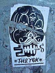 The Yok, New York, NY (Robby Virus) Tags: nyc ny newyorkcity newyork city manhattan bigapple theyok yok sticker slap street art