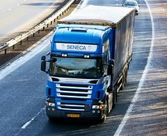 Scania R440-SENECA TRANSPORT B.V. Ameide Holland (scotrailm 63A) Tags: european trucks foreign lorries