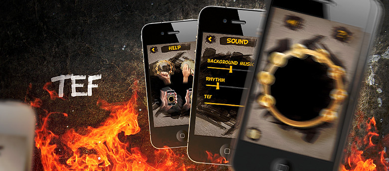 TEF Music iPhone Application, Ramotion