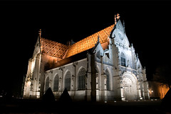 Monastere de Brou (StefanoPiemonte) Tags: francia notturna rhonealpes 2011 bourgenbresse stefanopiemonte chiesecattedrali