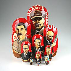 Soviet Leaders Nesting Doll Set (The Russian Store) Tags: trs matrioshka matryoshka russiannestingdolls  stackingdoll  russianstore  russiangifts  russiancollectibledolls shoprussian