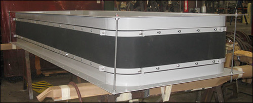 Fabric Expansion Joint Designed for a Power Generator Unit