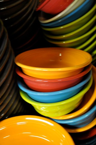 Fiestaware Seconds Room Closeup