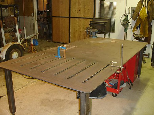 Welding Table Finally Done Pics