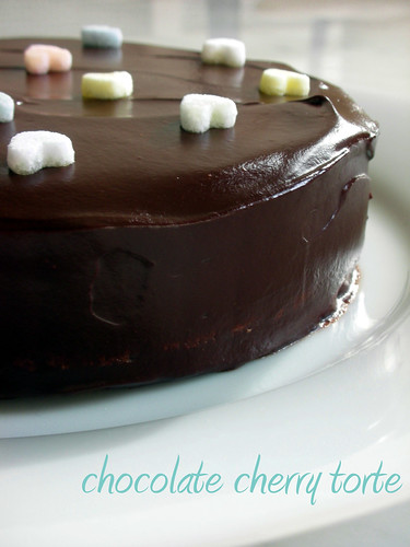 lora brody's chocolate cherry torte