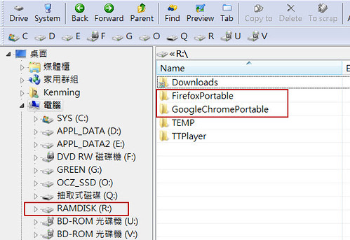 Firefox 4 & Chrome Save to Ramdisk