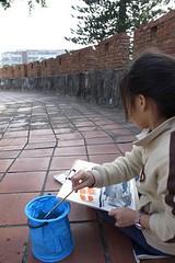 20110220-yoyo洗筆-1
