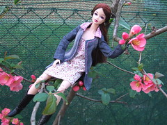 Sooki (Akemi^_^) Tags: door family girls flower cute girl fashion japan garden dark out japanese doll dolls friendship famiglia pop spooky collection together electro dynamite cuteness fiori sooki royalty giardino collezione addams bambola akane dollystyle mercoledì