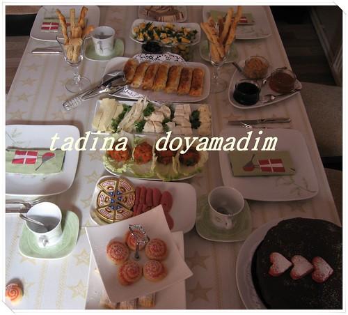 haftasonu kahvaltı sofrası