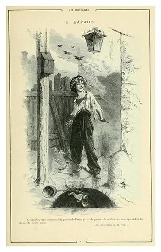 005-Los miserables 2-Cent dessins  extraits des oeuvres de Victor Hugo  album specimen (1800)