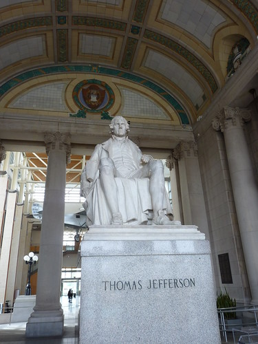 Jefferson Statue at Missouri History Museum - Project 365 Day 78 by Ladewig