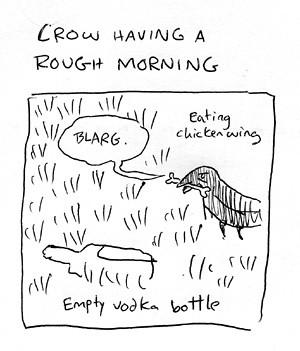 Hangover Crow