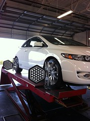 honda si civic hunter alignment