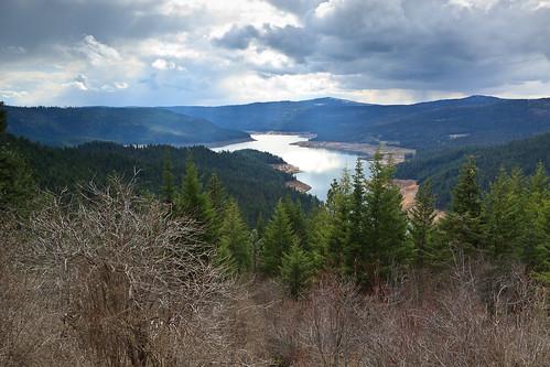 View over the Dworshak Reservoir