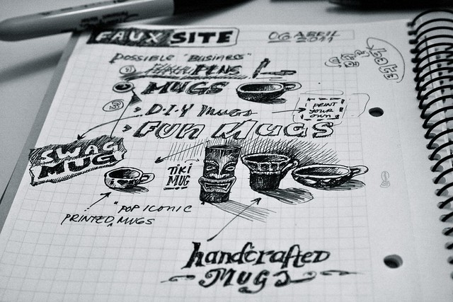 Sketchnotes for the Mugsite
