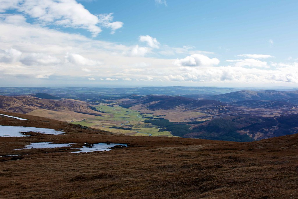 Glen Clova from Green Hill