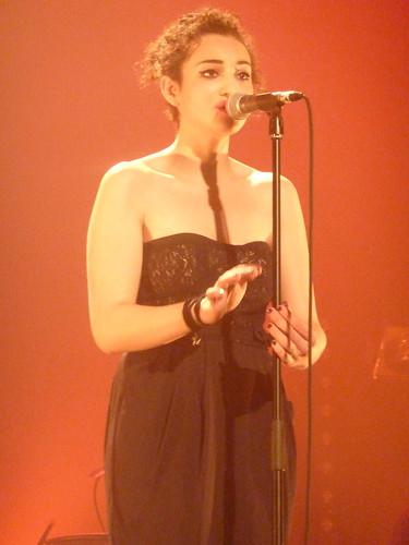 Camelia Jordana 03   - Le  Trianon -  Paris 2011