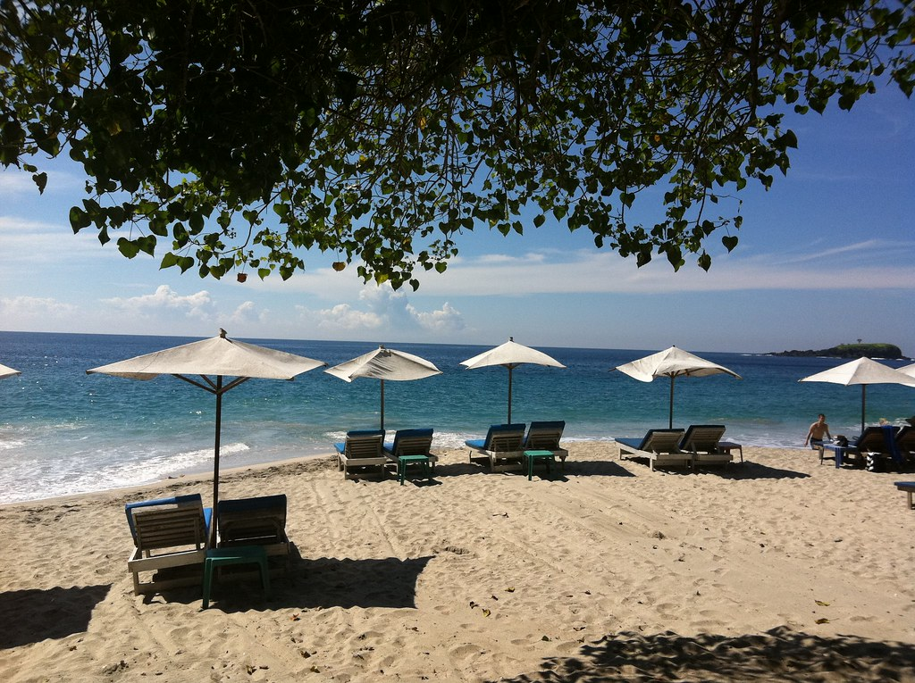 These should be full by the afternoon, White Sand Beach, Candi Dasa, Bali