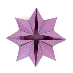 Star Flower Box - Harbin/Fuse (rebecccaravelry) Tags: star origami box fuse harbin tomokofuse robertharbin