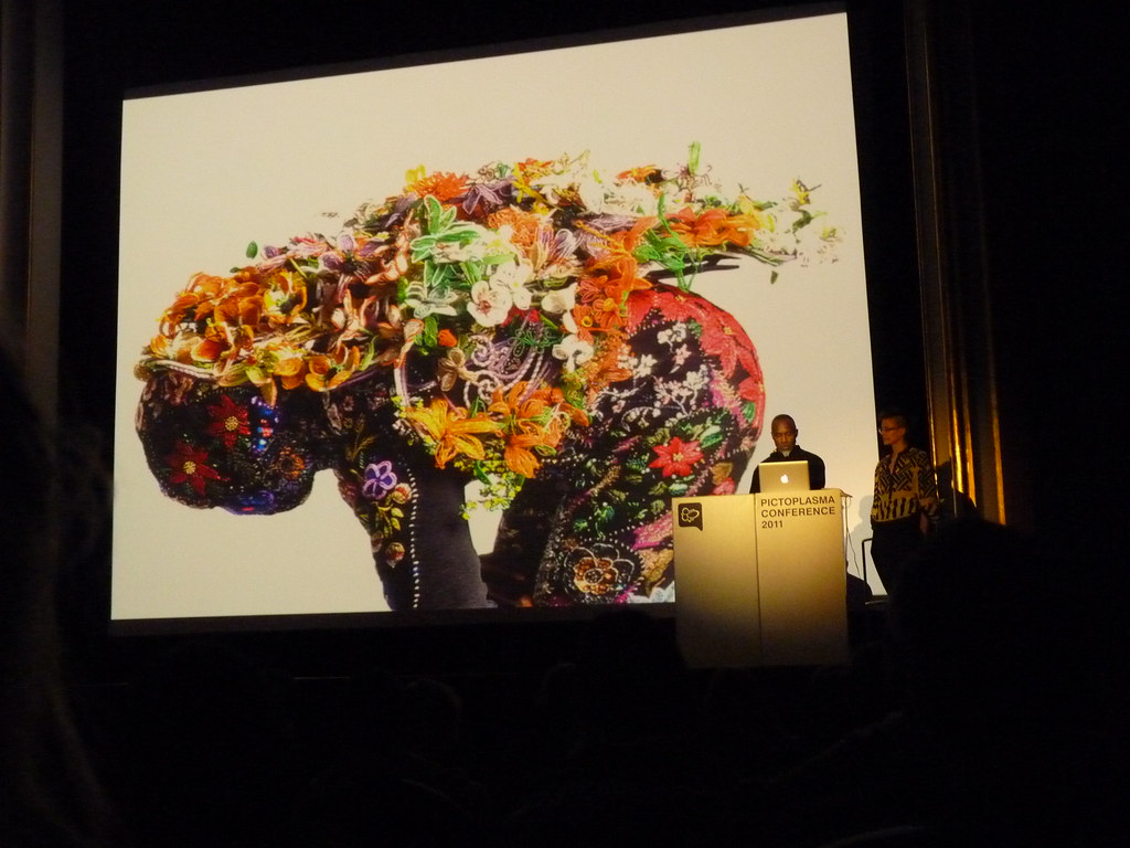 Nick Cave / Pictoplasma 2011 by MatiasR, on Flickr
