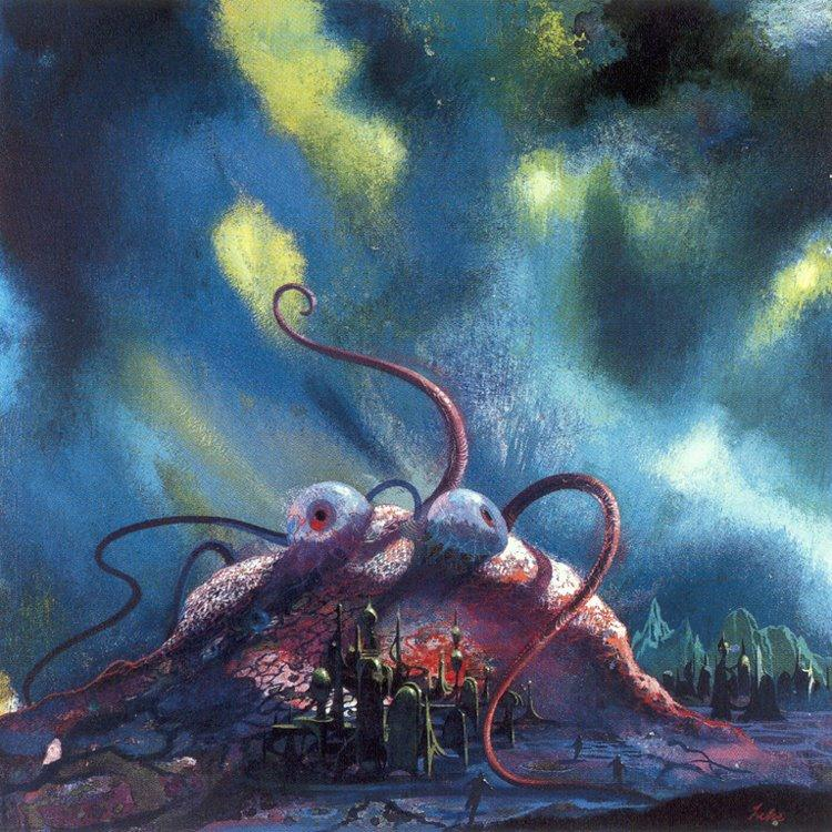 Paul Lehr - Astounding Science Fiction Reader,1967