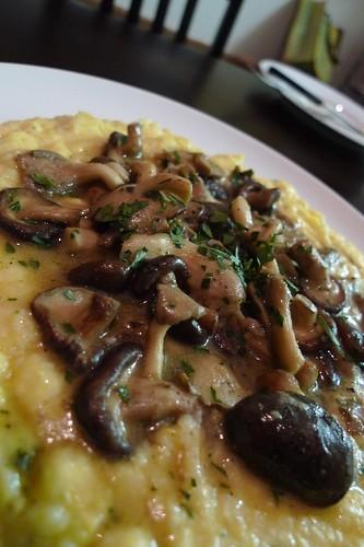 "Fra'Mani Polenta and Mushroom ""Ragout"""