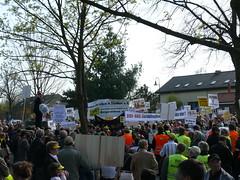 Demo in Schönefeld
