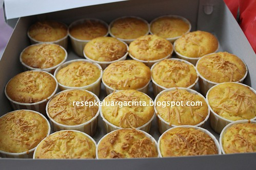 Cheesy cupcake Tuty
