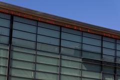 Telenor Hq Fornebu (v) (FotosFraOslo) Tags: art architecture words stream neon columns installation poles wisdom nonsense telenor fornebu phrases sentences