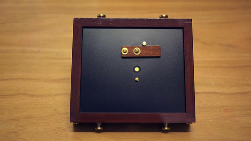 My new Zero Image 4x5 Pinhole Camera