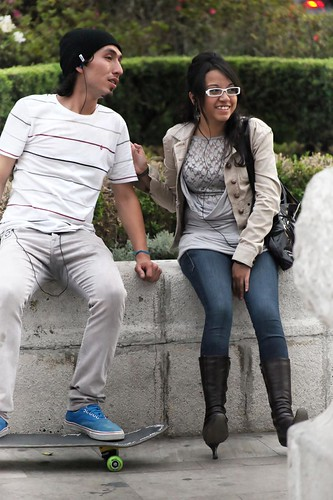 An interesting couple