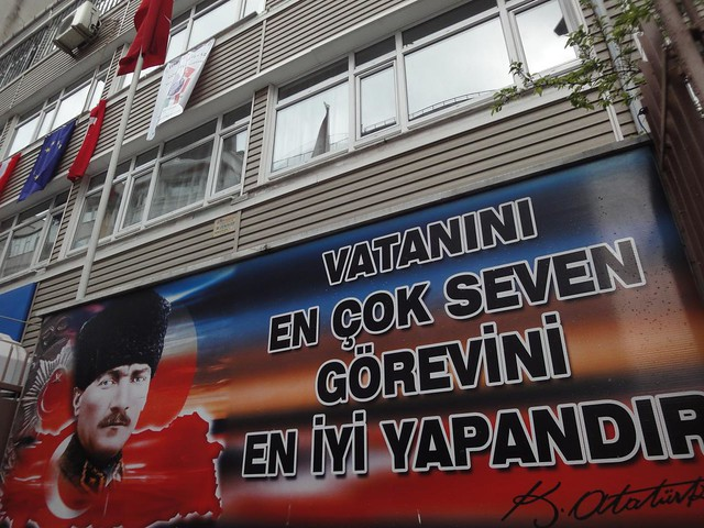 Mensagem de Educacao de Ataturk, Istambul