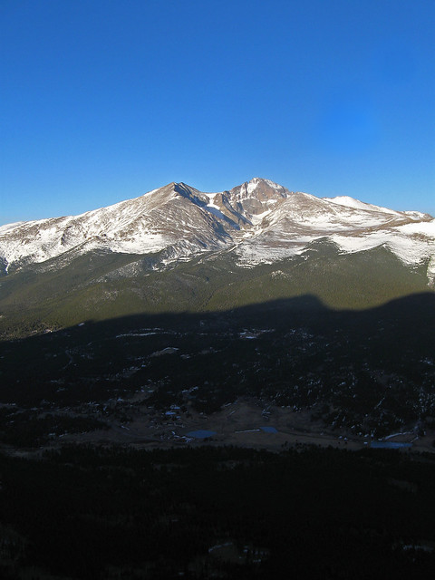 Longs Peak/Mt. Meeker from Twin Sisters