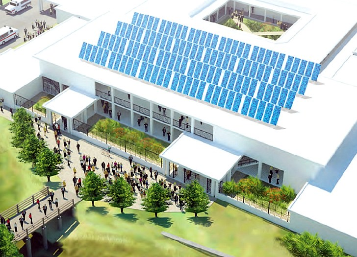 Solar Powered Teaching Hospital in Haiti