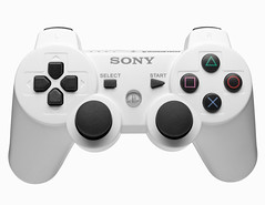 """White on White """"Sony"""" PS3 Controller (Derek Brabender) Tags: studio nikon call head sony flash small duty large fake sigma gaming 28 pocket controller softbox merge homefront strobe wizards pw d4 ps3 profoto hsm 1750mm multimax d40x"""