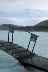 Blue Lagoon Bridge (Lauren Bansemer) Tags: bridge blue pool iceland bath mineral keflavik bluelagoon silica