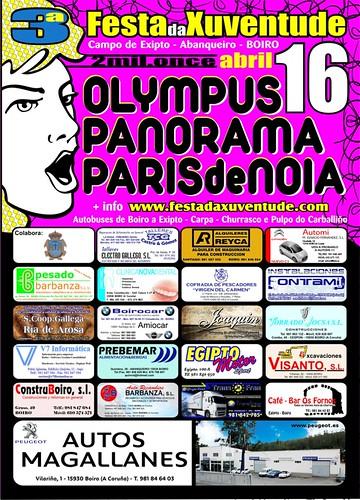 Boiro 2011 - Festa da Xuventude de Abanqueiro - cartel