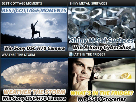 Shiny Metal surfaces, best cottage moments and more photo contest with Lenzr in Canada
